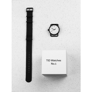 Hodinky TID Watches No.1 White/ Tan Wristband