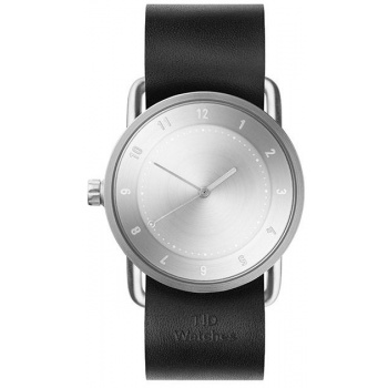 TID Watches No.2 Black Leather