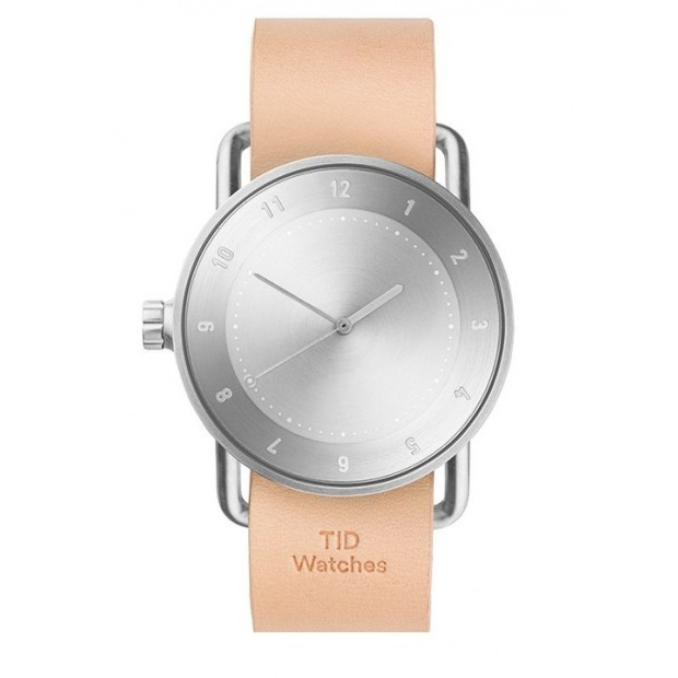 Hodinky TID Watches No.2 Natural Leather
