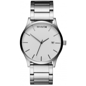 MVMT CLASSIC SERIES - 45 MM WHITE SILVER