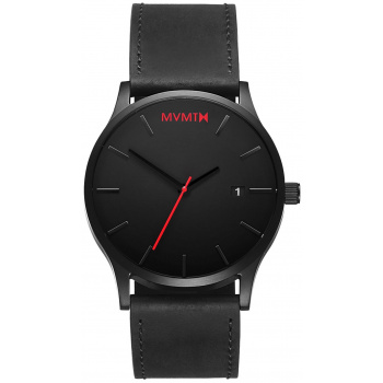 MVMT CLASSIC SERIES - 45 MM BLACK LEATHER L213.5L.551