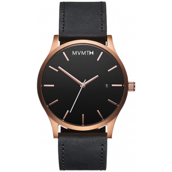 MVMT CLASSIC SERIES - 45 MM ROSE GOLD BLACK
