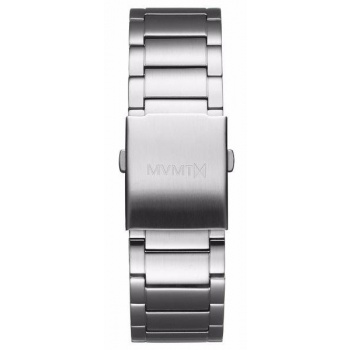 MVMT MENS CLASSIC SERIES 24MM STEEL BAND SILVER