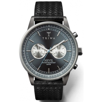 TRIWA ASH NEVIL BLACK CHRONOGRAPH