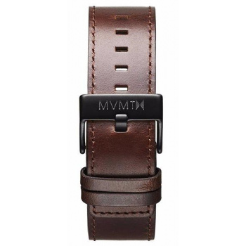 MVMT MENS CLASSIC SERIES 24MM BROWN LEATHER BLACK