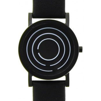 PROJECT WATCHES Black Free Time / Leather - 33mm