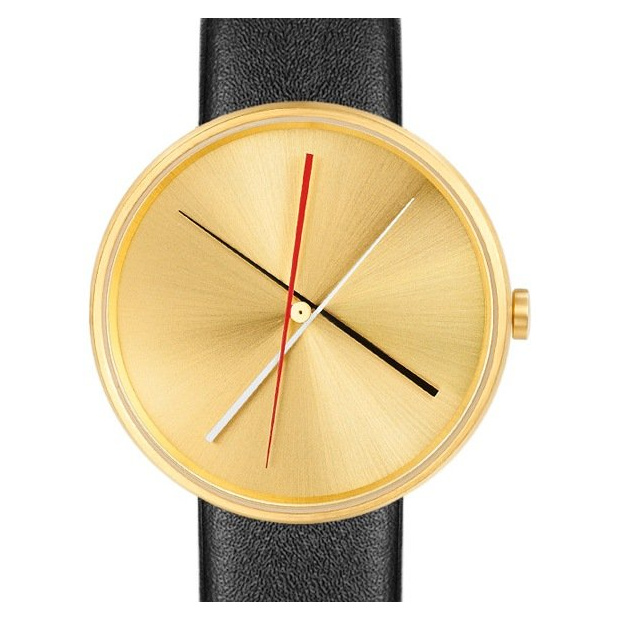 Hodinky PROJECT WATCHES Crossover BRASS / Black