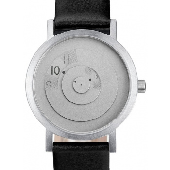 PROJECT WATCHES Steel Reveal Watch Sleek and Modern / Leather - 33mm