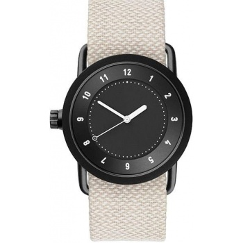 TID Watches No.1 36 Black / Sand Twain Wristband