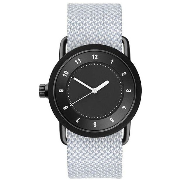 Hodinky TID Watches No.1 36 Black / Mineral Twain Wristband