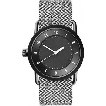 TID Watches No.1 36 Black / Granite Twain Wristband