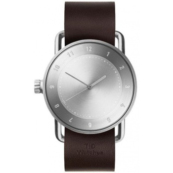 TID Watches No.2 / Walnut Leather Wristband