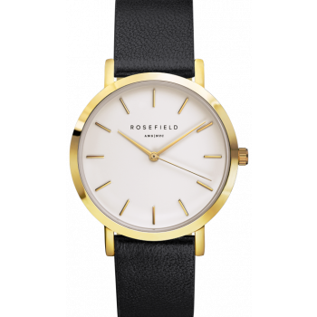 ROSEFIELD THE GRAMERCY BLACK - BLACK / 38MM