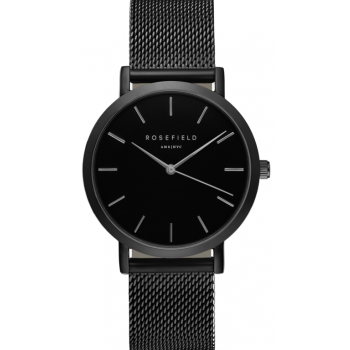 ROSEFIELD THE MERCER BLACK / BLACK 38 MM