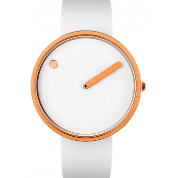 PICTO WHITE/POLISHED ROSE GOLD 43383-0220R