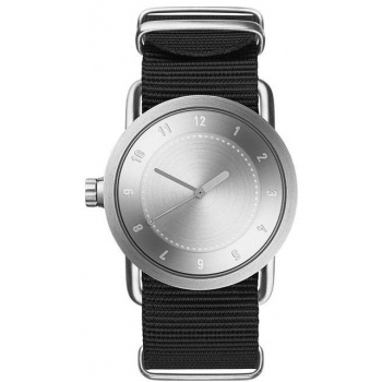 TID Watches No.1 36 Steel / Black Nylon Wristband
