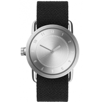 TID Watches No.1 36 Steel / Coal Twain Wristband