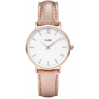 CLUSE MINUIT ROSE GOLD WHITE/ROSE GOLD METALLIC CL30038