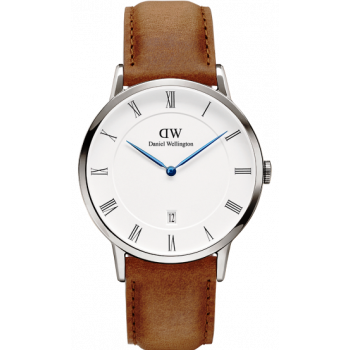 DANIEL WELLINGTON DAPPER DURHAM SILVER 38MM