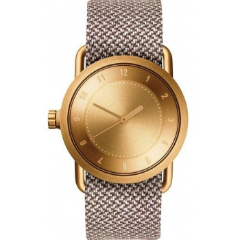 TID Watches No.1 36 Gold / Mill Twain Wristband