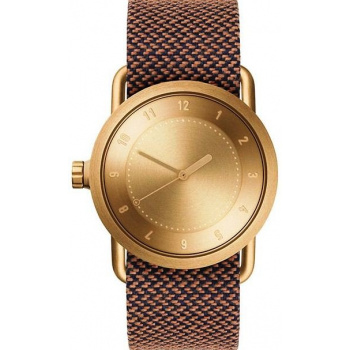 TID Watches No.1 36 Gold / Rust Twain Wristband