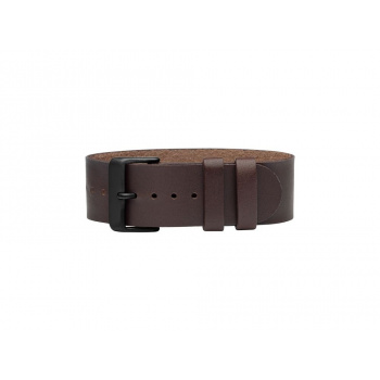 TID Watches Walnut Leather Wristband
