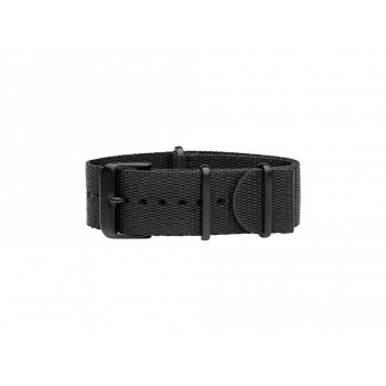 TID Watches Black Nylon Wristband