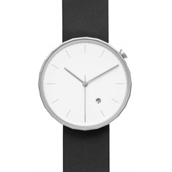 CHI & CHI POLYGON WATCH PG02 Silver / Black