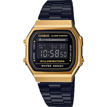 CASIO - Retro A168WEGB-1BEF Black & Gold Special Edition