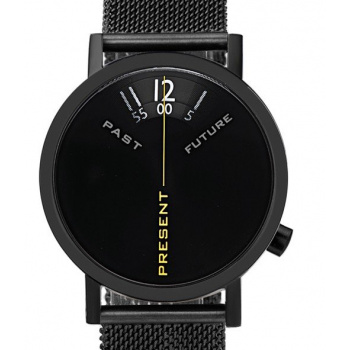 PROJECT WATCHES Past, Present & Future Black Mesh