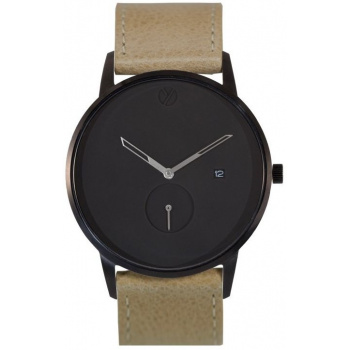 WHY WATCHES Modernist Model 2 - Black / Tan