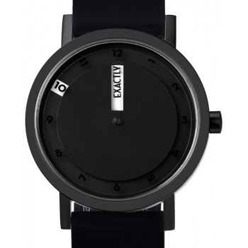 PROJECT WATCHES Till Watch BLACK / Silicone band