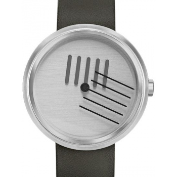 PROJECT WATCHES On the Right Track / Black Leather