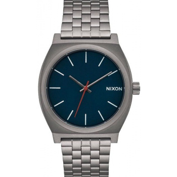 NIXON TIME TELLER ALL GUNMETAL DARK BLUE