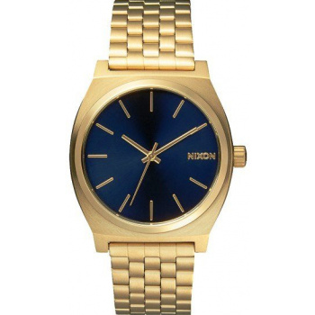 NIXON TIME TELLER ALL LIGHT GOLD COBALT