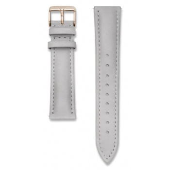 ROSEFIELD BOWERY GREY STRAP ROSE GOLD / 38MM