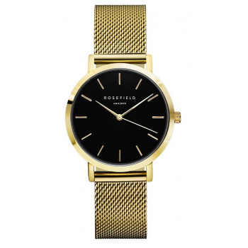 ROSEFIELD THE TRIBECA BLACK - GOLD / 33MM
