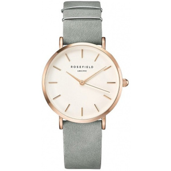 ROSEFIELD THE WEST VILLAGE MINT GREY / ROSE GOLD 33 MM