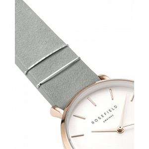 Hodinky ROSEFIELD THE WEST VILLAGE MINT GREY - ROSE GOLD / 33MM