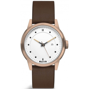 HYPERGRAND MAVERICK 44 - 3HD ROSE GOLD WHITE - CLASSIC BROWN