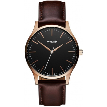 MVMT 40 SERIES - 40 MM ROSE GOLD BROWN