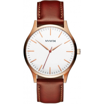 MVMT  40 SERIES - 40 MM ROSE GOLD NATURAL TAN