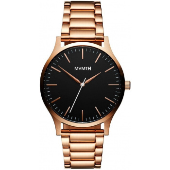 MVMT 40 SERIES - 40 MM BLACK ROSE GOLD