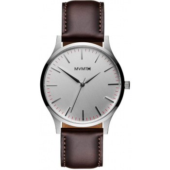 MVMT 40 SERIES - 40 MM SILVER BROWN