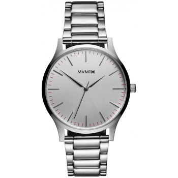 MVMT FORTY SERIES - 40 MM SILVER