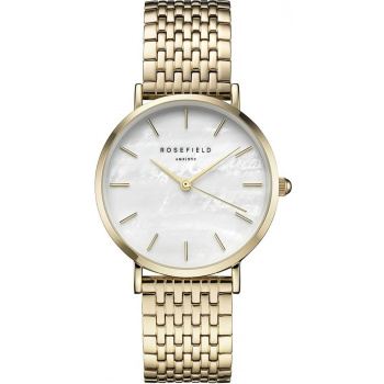 ROSEFIELD THE UPPER EAST SIDE GOLD / WHITE PEARL 33 MM