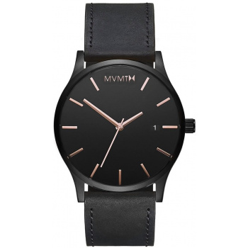 MVMT CLASSIC SERIES - 45 MM BLACK ROSE LEATHER