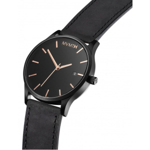 Hodinky MVMT CLASSIC SERIES - 45 MM BLACK ROSE LEATHER