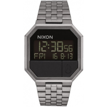 NIXON RE-RUN ALL GUNMETAL