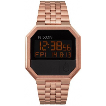 NIXON RE-RUN ALL ROSE GOLD